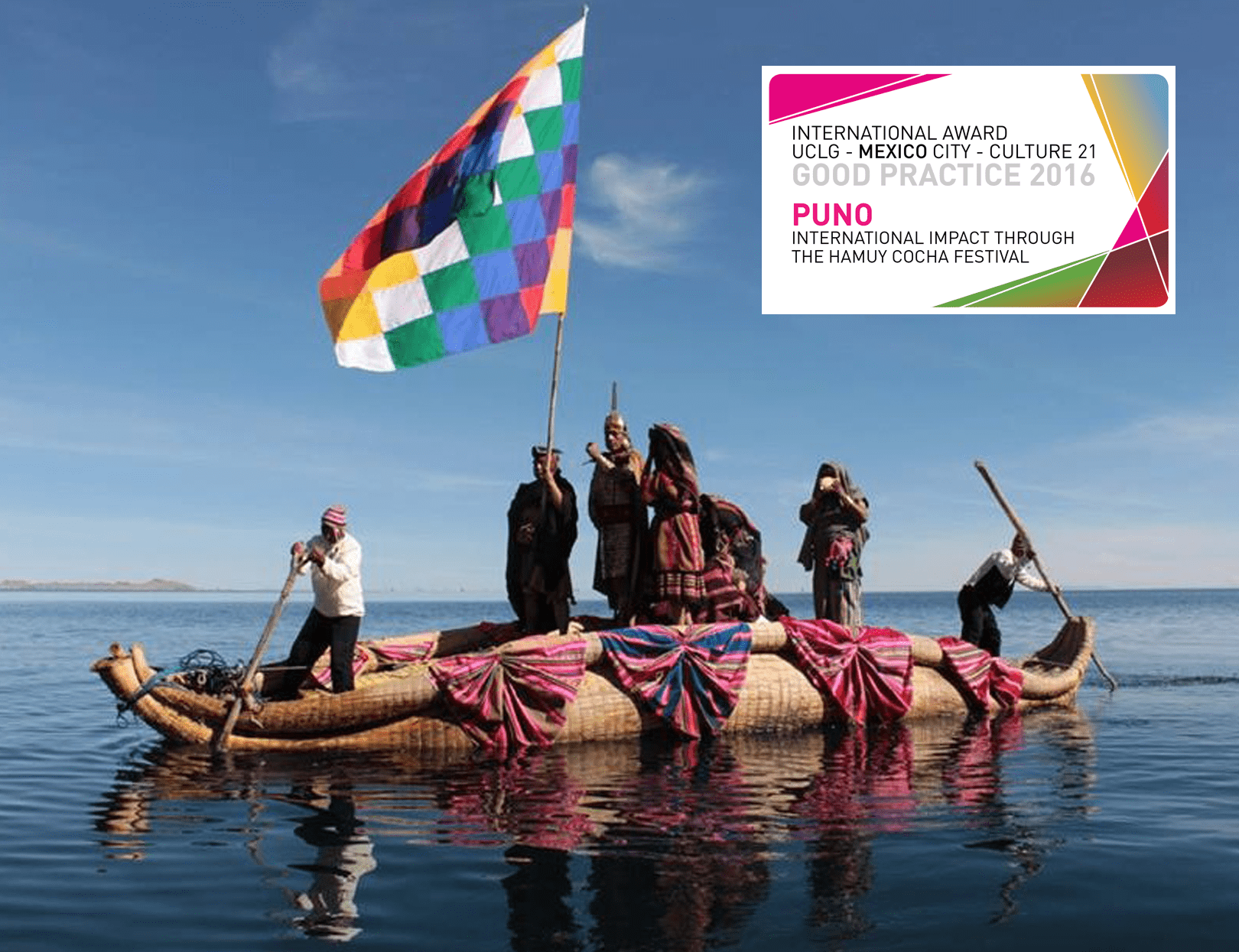 International impact through the Hamuy Cocha Festival, Puno