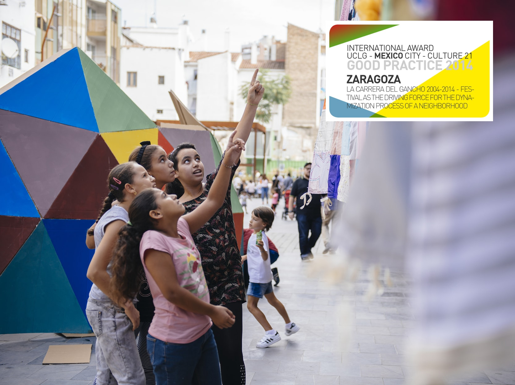 La Carrera del Gancho: the Festival, a driving force in the process of neighbourhood enhancement, Zaragoza