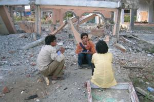 The Aceh post-tsunami cultural heritage project