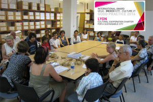 Cultural cooperation Carter for a sustainable city of Lyon