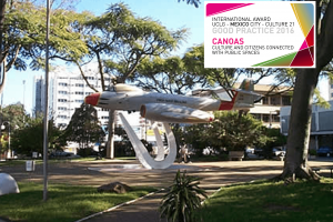 Culture and citizens connected to public space in Canoas