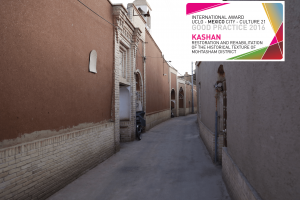 Restoration and rehabilitation of the historical texture of Mohtasham district in Kashan