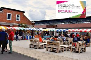 The creative quarter project of Nottingham